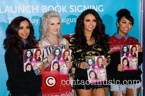 Perrie Edwards, Little Mix and Bluewater 5