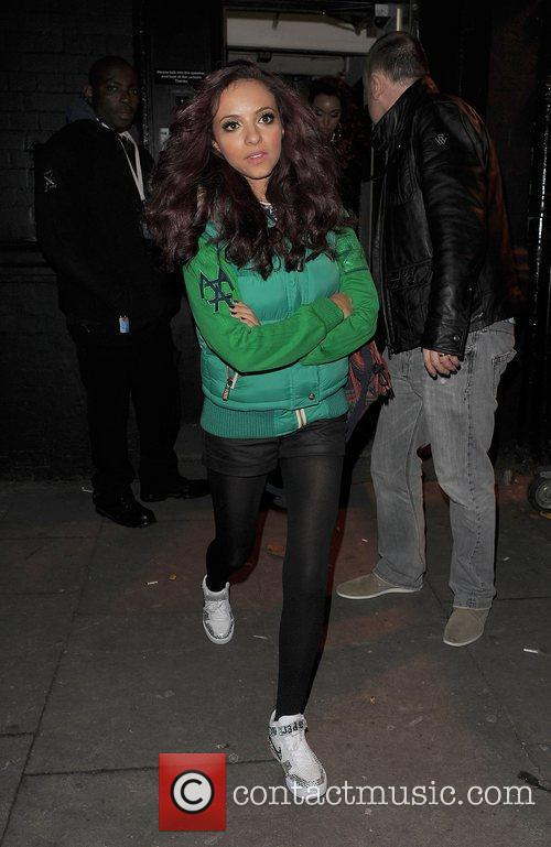 Jade Thirlwall from girl group Little Mix, leaving...