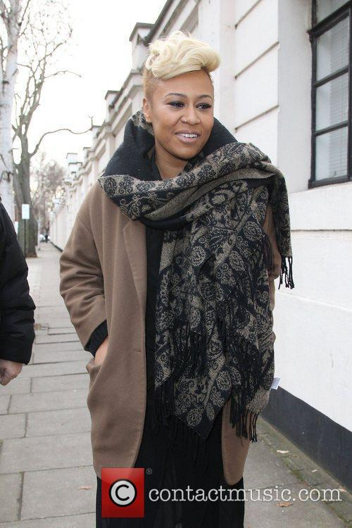 Emeli Sande at the BBC Maida Vale studios...