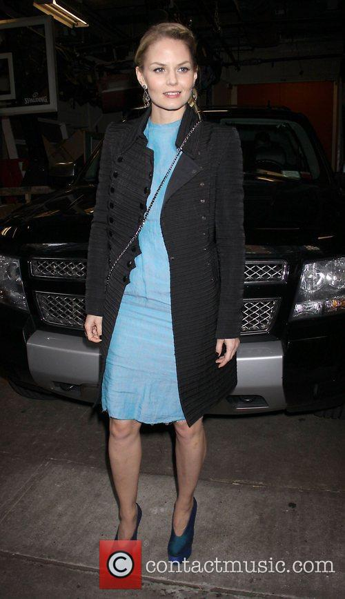 Jennifer Morrison Celebrities outside the 'Live! With Kelly'...