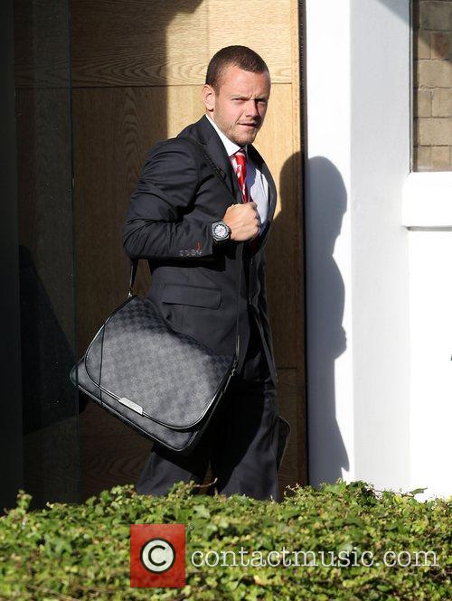 Jay Spearing The Liverpool football squad depart the...