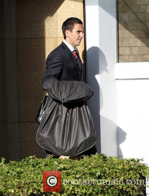 Stewart Downing The Liverpool football squad depart the...