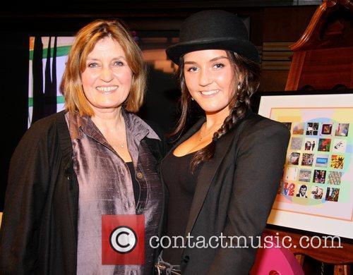 Cheryl Tarbuck and her daughter Liverpool Love Art...