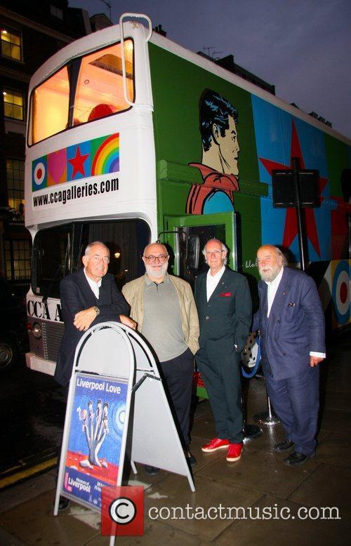 Roy Ackerman, Roger McGough, Alexei Sayle and Brendan...
