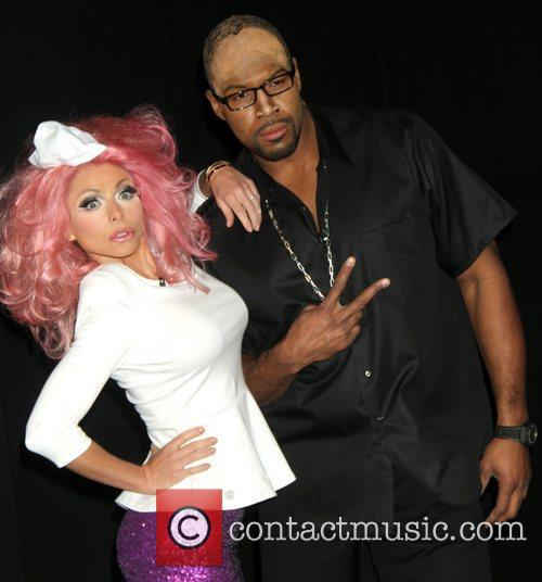 Kelly Ripa, Nicki Minaj, Michael Strahan and Randy Jackson 11