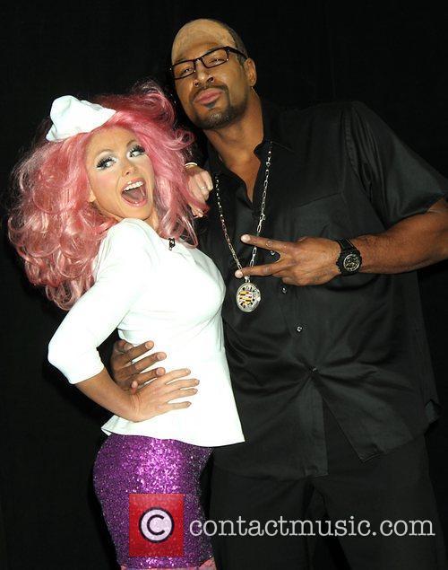 Kelly Ripa, Nicki Minaj, Michael Strahan and Randy Jackson 4