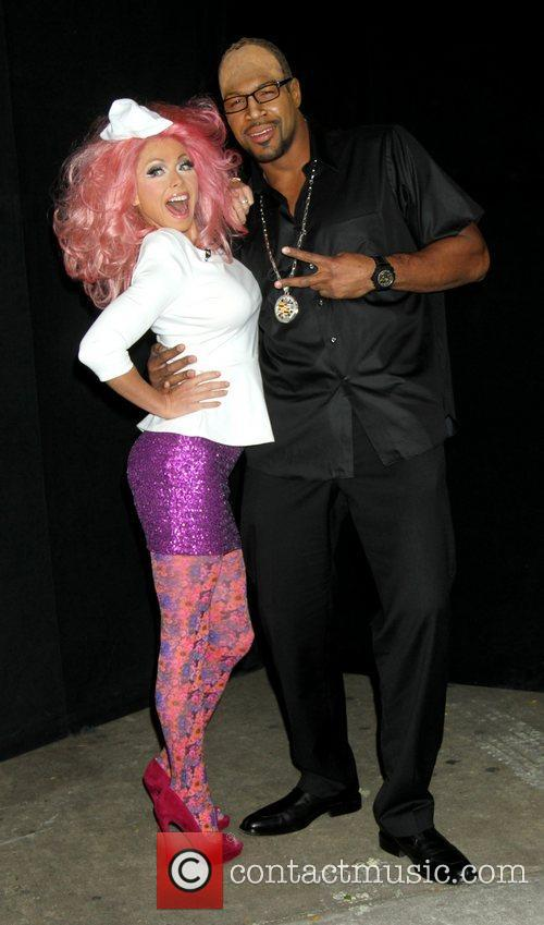 Kelly Ripa, Nicki Minaj, Michael Strahan and Randy Jackson 9