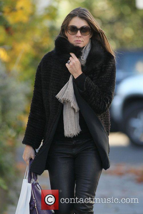 Liz Hurley aka Elizabeth Hurley out and about...
