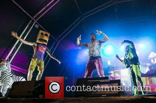 LMFAO performing live at Centro Hipico de Vilamoura...
