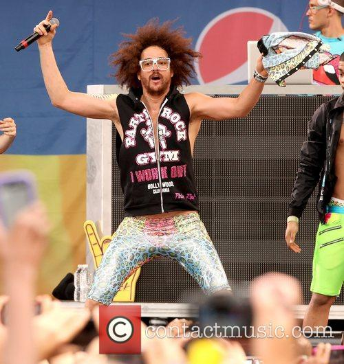 redfoo lmfao performs live in central park 5871483