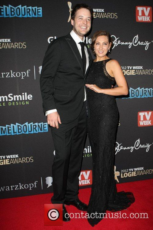 Hamish Blake and Zoe Foster The 2012 Logie...