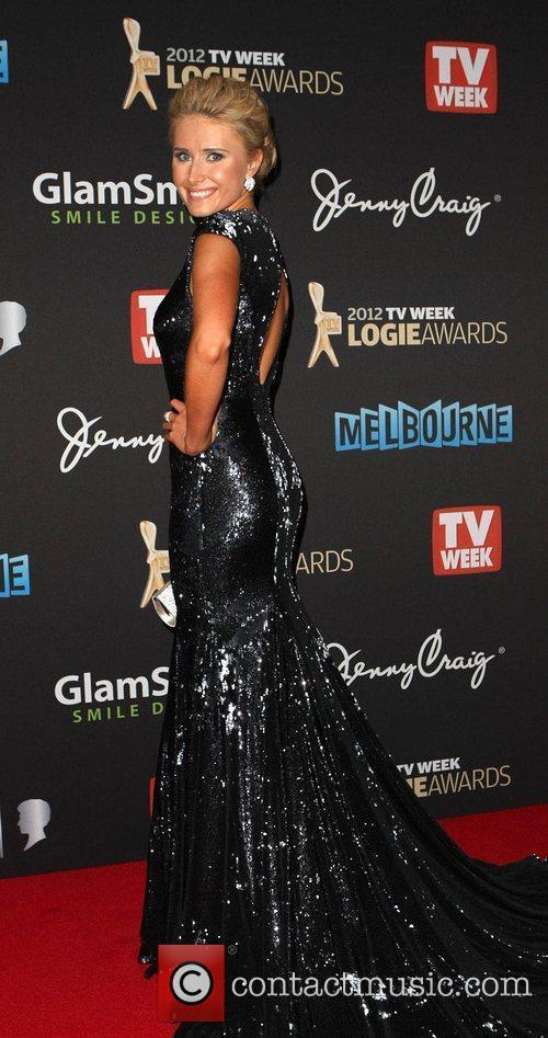 Magdalena Roze The 2012 Logie Awards held at...