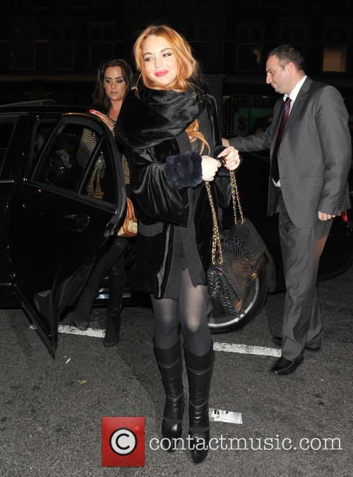 Lindsay Lohan, China Tang, London