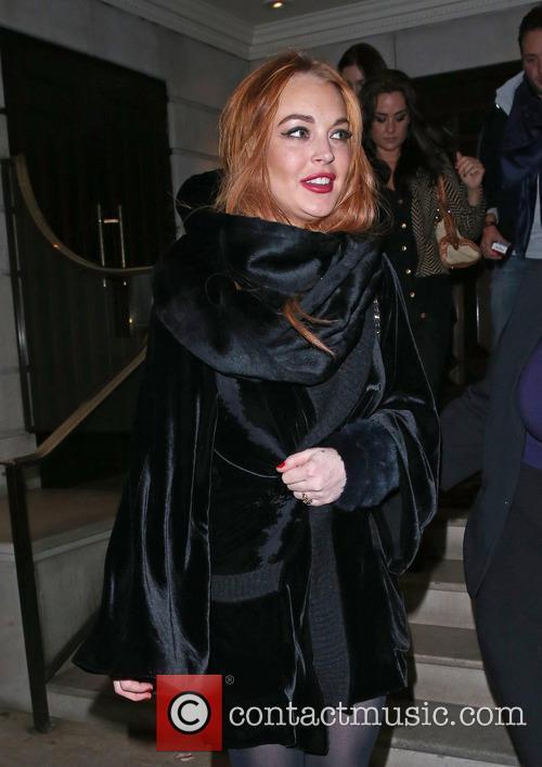 Lindsay Lohan in London