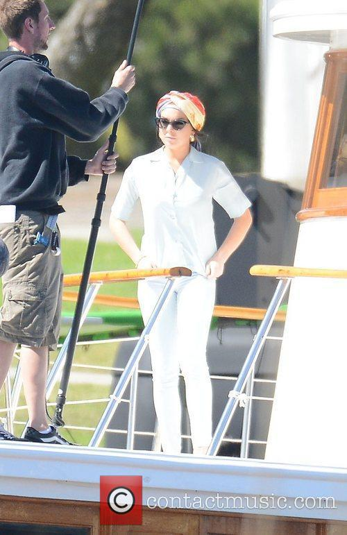 lindsay lohan filming scenes from her new 3929102