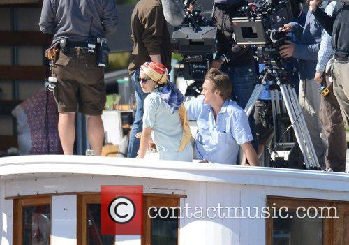 lindsay lohan filming scenes from her new 3929107