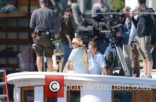lindsay lohan filming scenes from her new 3929123