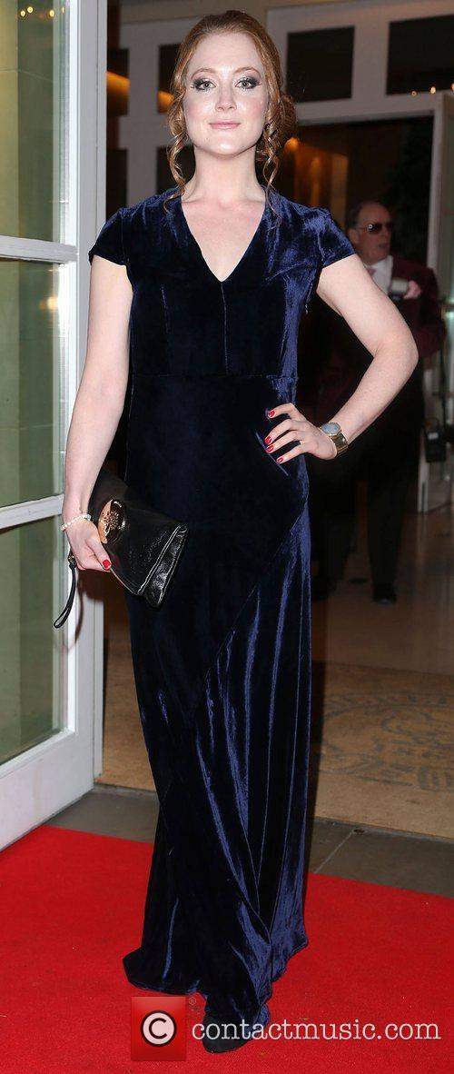 Olivia Hallinan,  at the Hot Diamonds London...