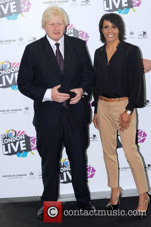 Boris Johnson and Kelly Holmes 2