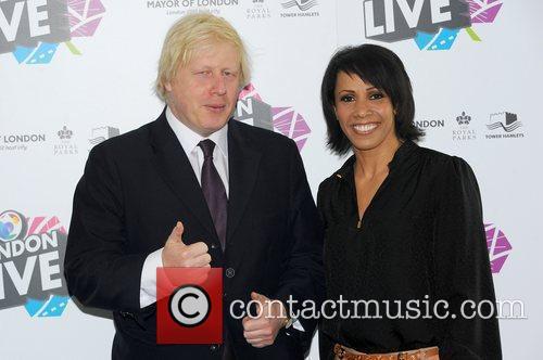 Boris Johnson and Kelly Holmes 4