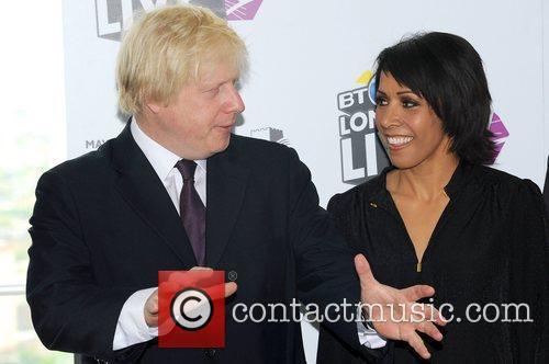 Boris Johnson and Kelly Holmes 5