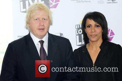 Boris Johnson and Kelly Holmes 6