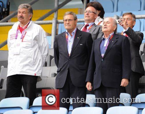 The Olympic Football Men's Preliminary game between Korea...