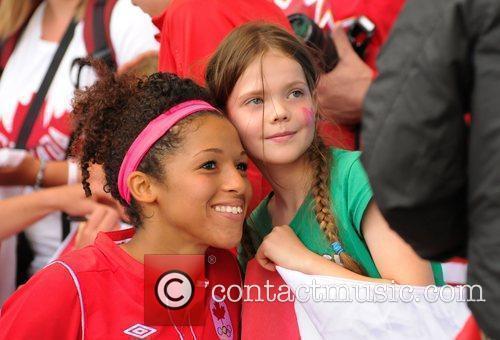 Desiree Scott London 2012 Olympic Games - Women's...