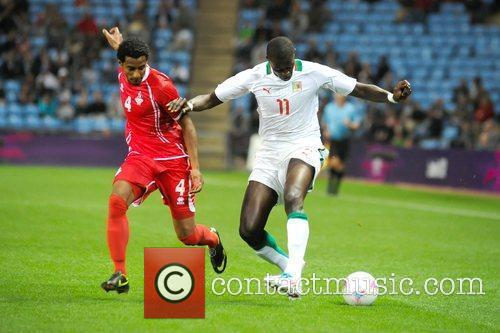 2012 London Olympic Football Men's second half game...