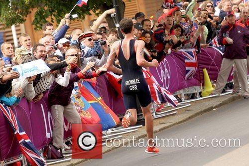 London 2012 Olympic Games - Triathlon, held at...