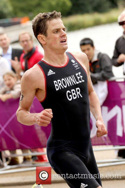 Jonathan Brownlee of Great Britian London 2012 Olympic...