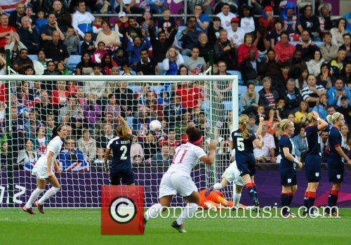 Match Action London 2012 Olympic Games - Women's...