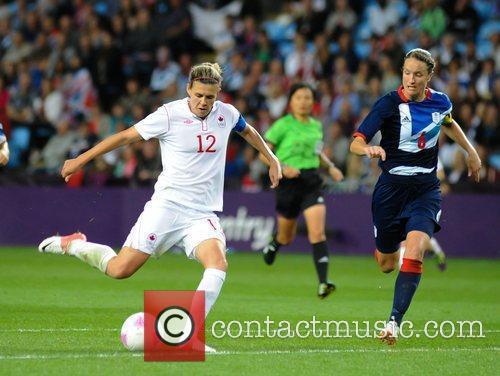 Christine Sinclair (Canada) London 2012 Olympic Games -...