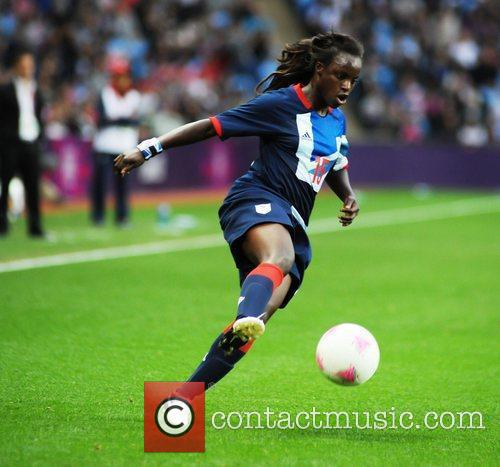 Eniola Aluko (Great Britain) London 2012 Olympic Games...