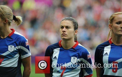 Karen Carney (Great Britain) London 2012 Olympic Games...