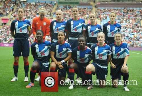 Team GB London 2012 Olympic Games - Women's...