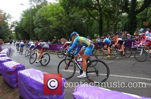 Women's Olympic Road Race cycle event during The...