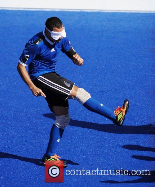 Argentine team player London 2012 Paralympic Games -...