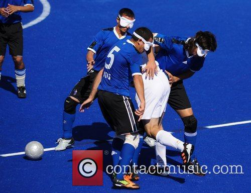 London 2012 Paralympic Games - 5-a-side Blind Football...