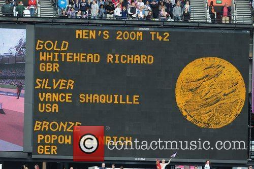 London 2012 Paralympic Games - Men's 200m Medal...
