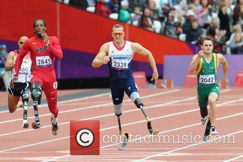 Richard Whitehead of Great Britain  wins Gold...