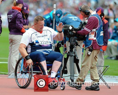 Richard Womack of Great Britain wins the Gold...