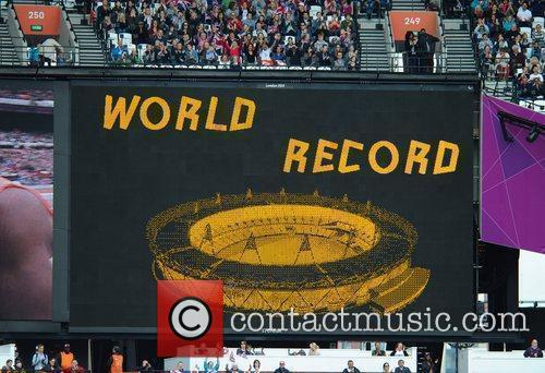 Libby Clegg sets a new world record in...