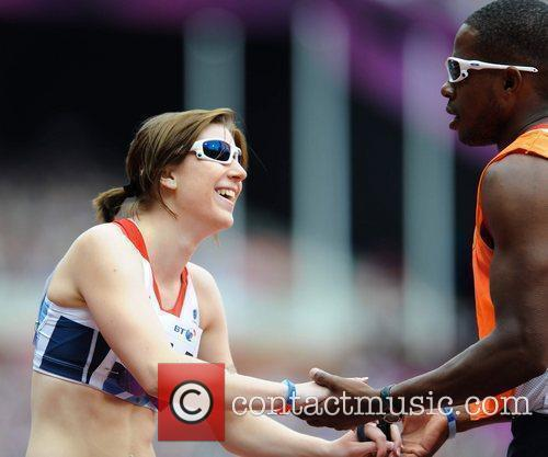 Libby Clegg  sets a new world record...
