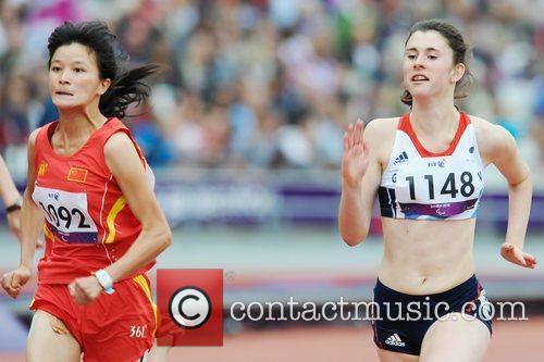 London 2012 Paralympic Games - Women's 100m -...