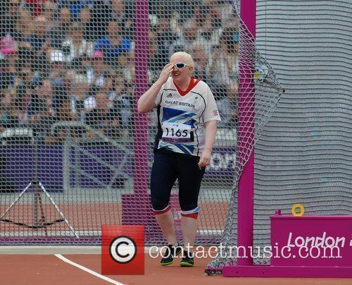 Claire Williams of Great Britain London 2012 Paralympic...
