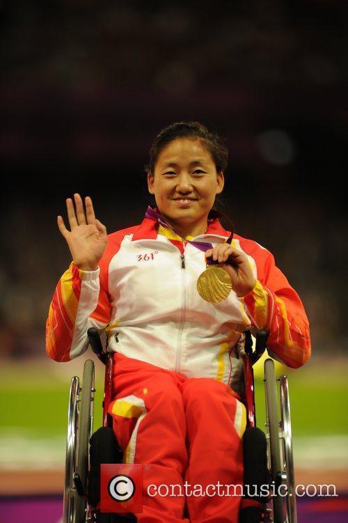 (Gold) Hongzhuan Zhou (CHN)  London 2012 Paralympic...