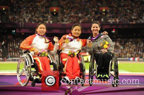 (Gold) Hongzhuan Zhou (CHN) (Silver ) Lisha Huang...