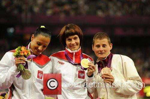 Women's 1500m T20 . Medal Ceremony.  (Gold)...