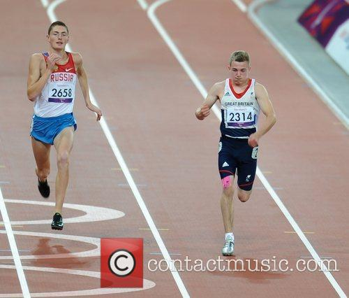London 2012 Paralympic Games - Men's 100m T35...